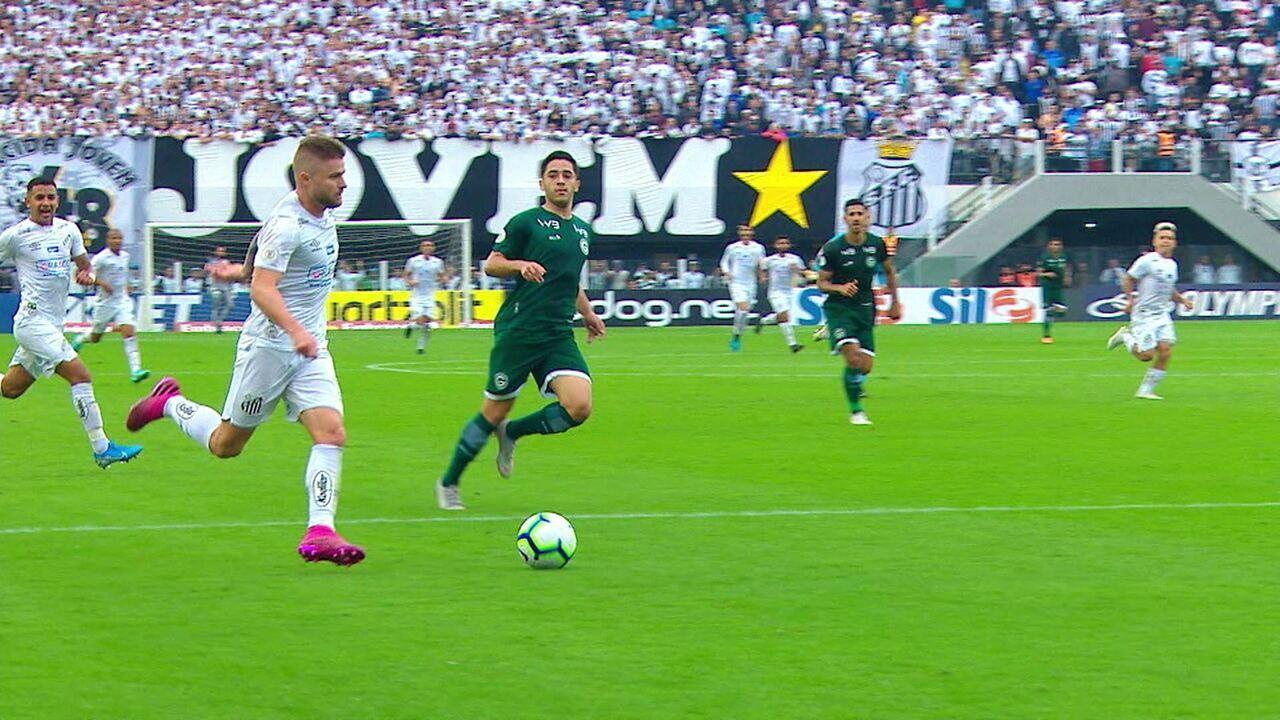 Melhores momentos: Santos 6 x 1 Goiás pela 13ª rodada do Brasileirão