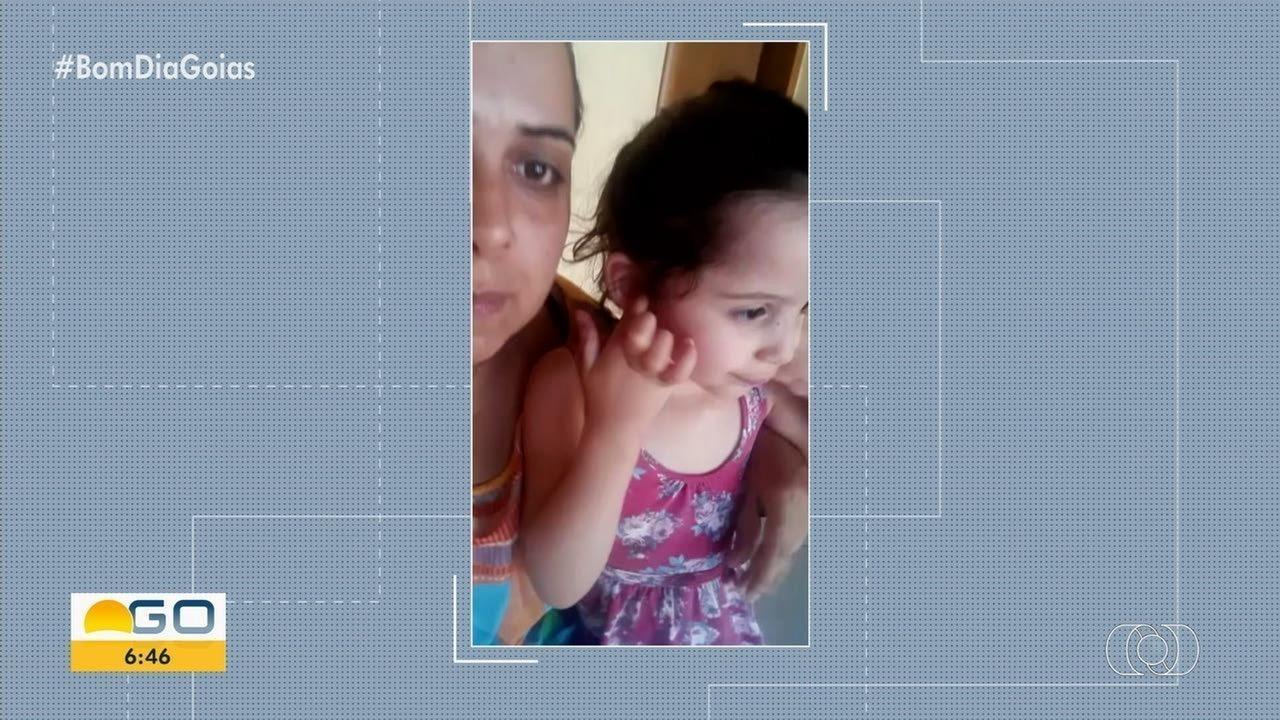 Mãe pede ajuda para custear tratamento da filha de 3 anos com 'ossos de vidro'