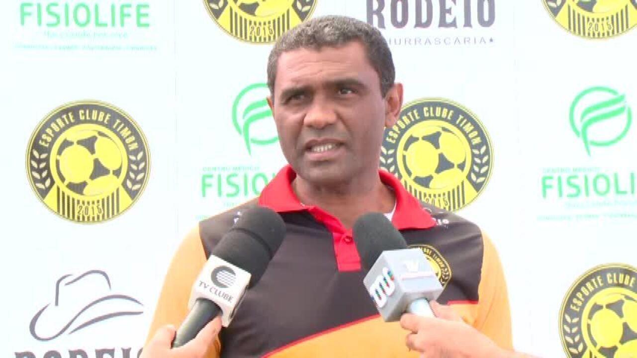 Timon-PI começa treinos para a Série B, e técnico Marcão dá perfil agressivo ao time