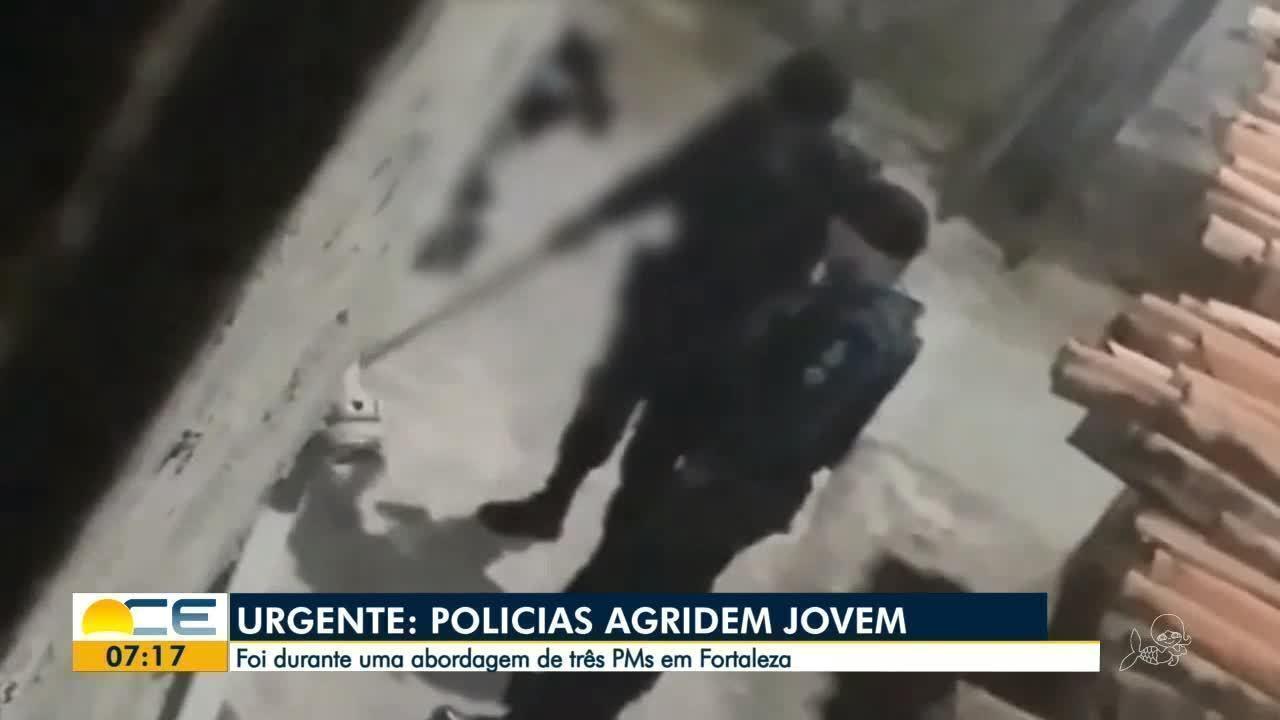 Vídeo mostra flagrante de agressão policial