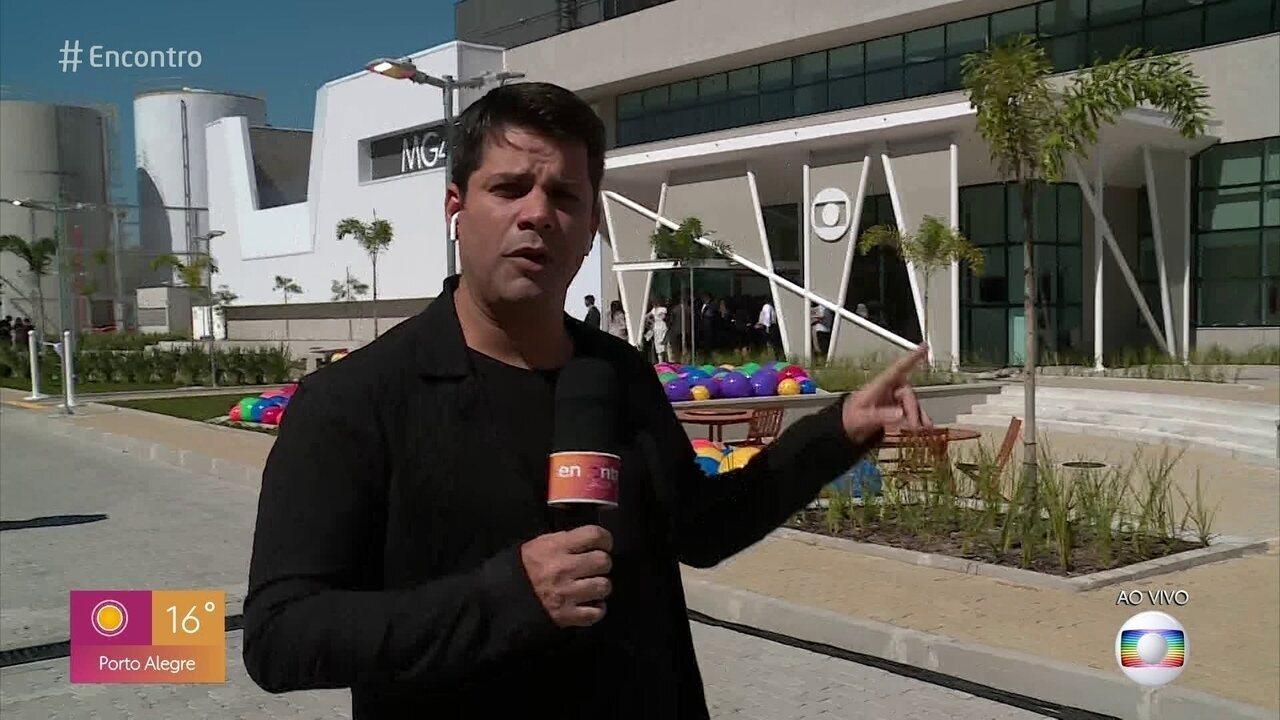Globo inaugura novo módulo de gravação nos Estúdios Globo