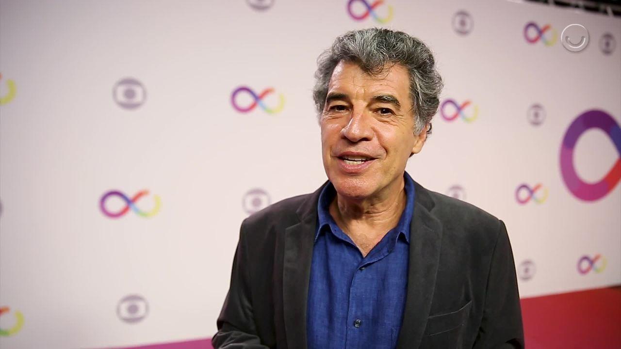 Paulo Betti fala sobre inauguração do MG4 (Imagem e edição: Chico Couto e Marina Pirozi)