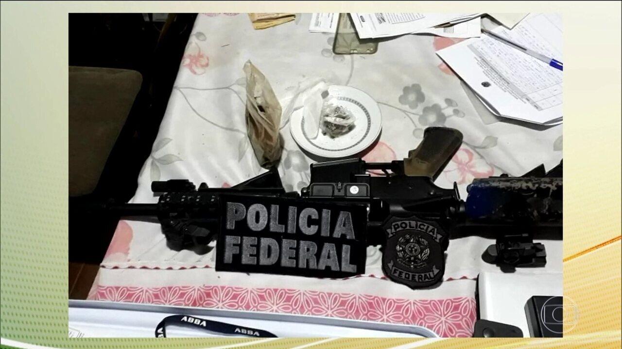 Polícia Federal prende 34 suspeitos de lavagem de dinheiro para uma facção criminosa