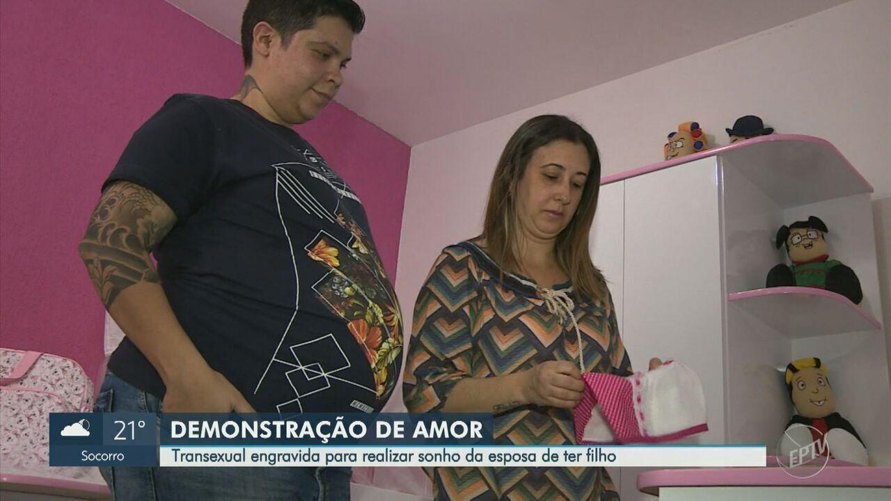 Em Itapira, homem trans engravida para realizar sonho do casal de ter filhos