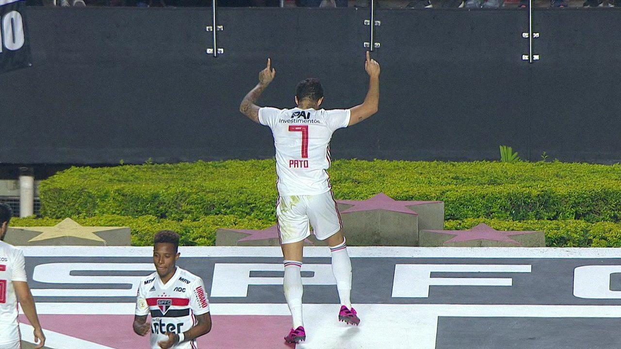 Melhores momentos de São Paulo 3 x 2 Santos pela 14ªrodada do Campeonato Brasileiro