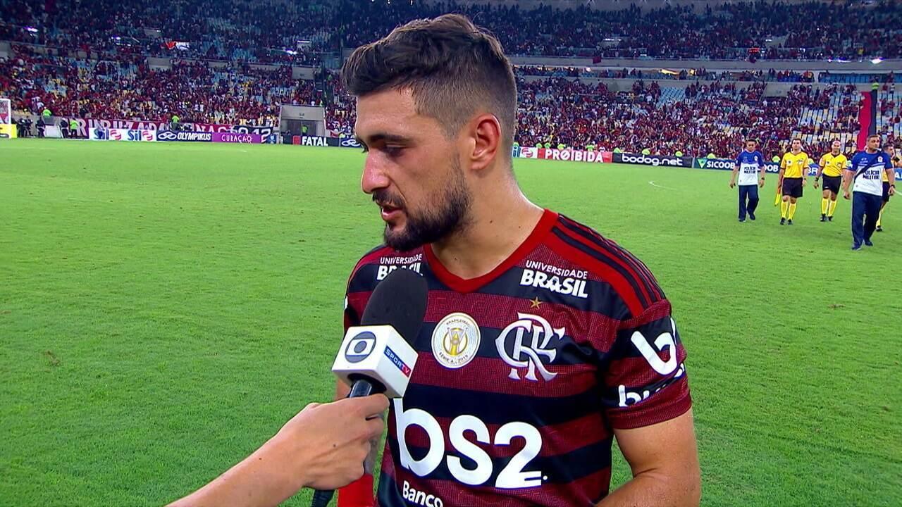 Arrascaeta diz que Flamengo precisa repetir desempenho quando joga fora de casa