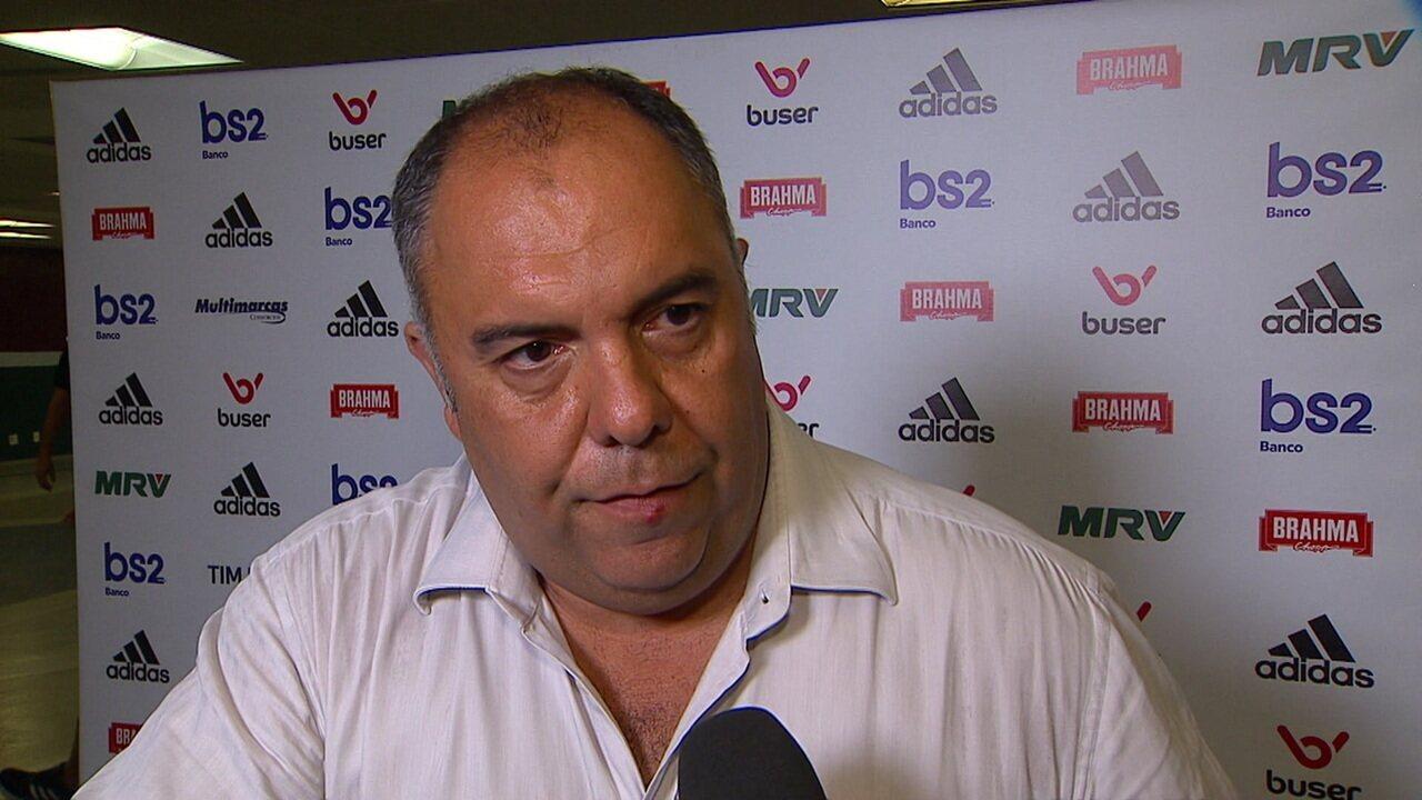 Dirigente Marcos Braz fala sobre Balotelli
