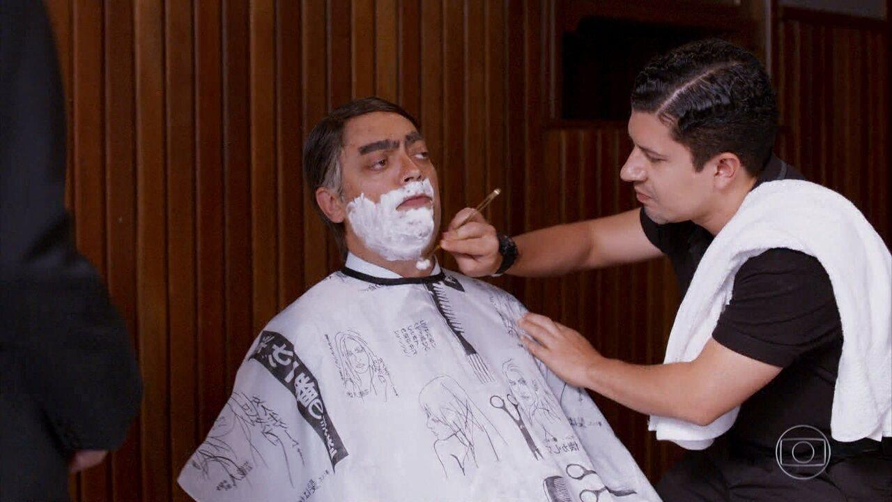 Bolsonaro na Barbearia