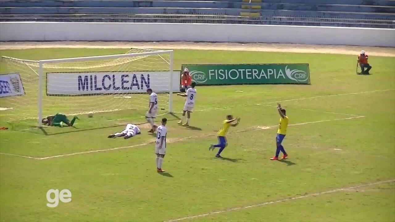 Assista aos gols da goleada do São José por 10 a 0 sobre a Matonense