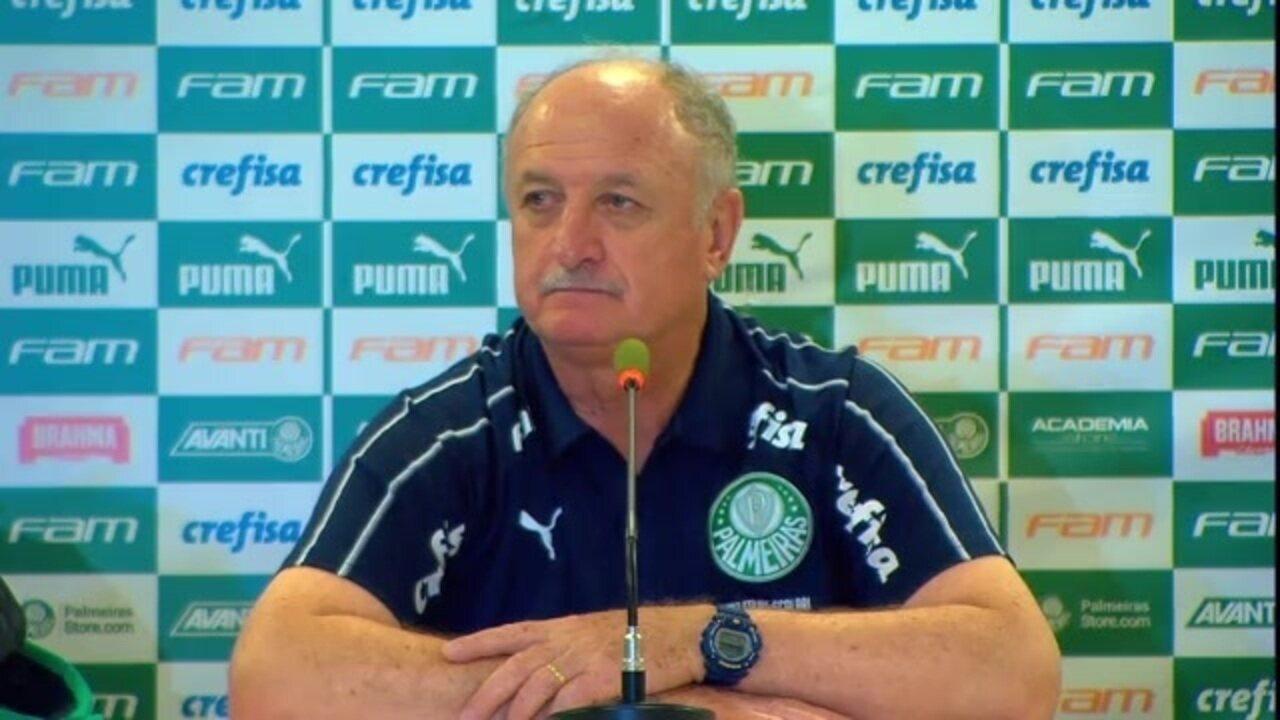 Veja a entrevista coletiva de Felipão após empate entre Palmeiras e Bahia