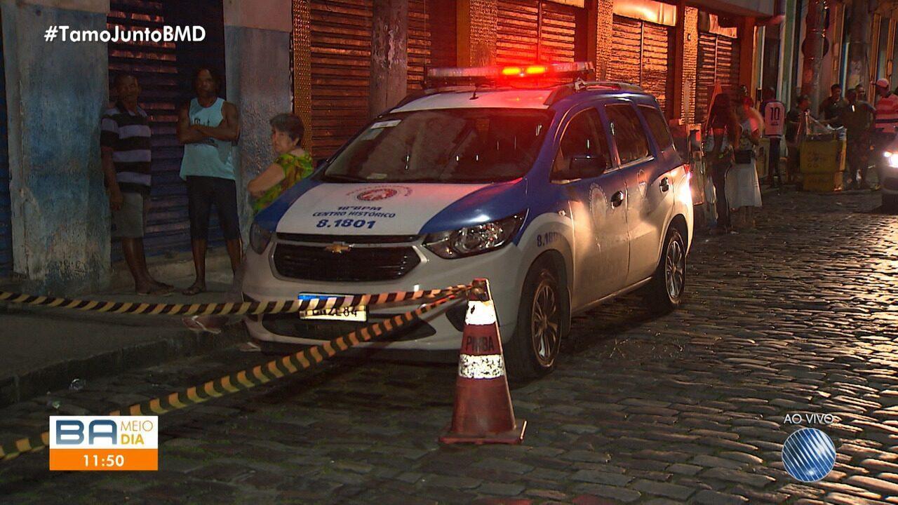 Violência: homem morre após sair de show do Olodum no Pelourinho