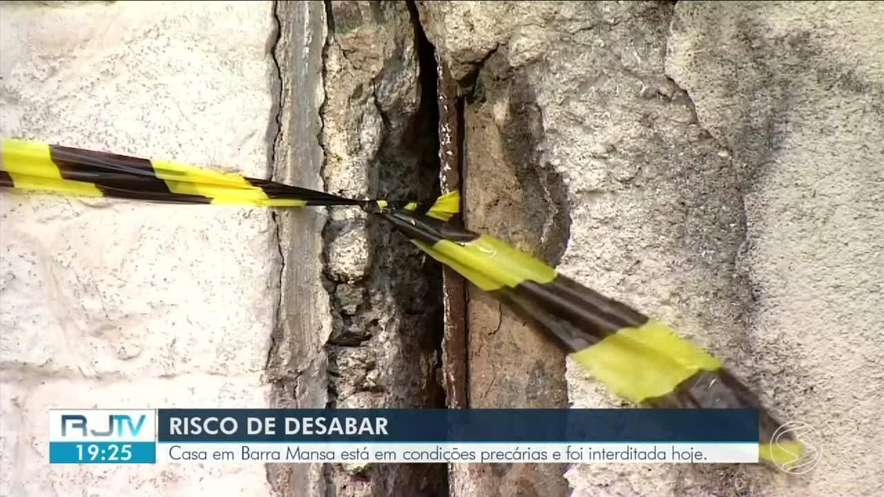 Imóvel da Caixa Econômiaca Federal é interditado em Barra Mansa