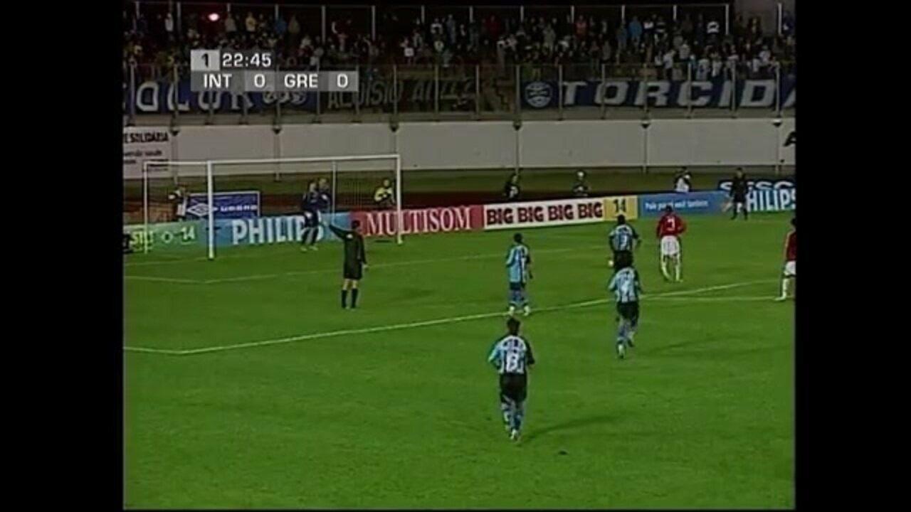 Primeiro gol de Luiz Adriano em final do Brasileirão Sub-20 pelo Internacional