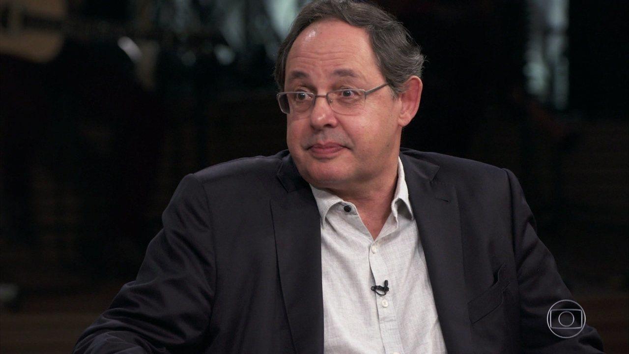 Eduardo Giannetti conta que prefere evitar rótulos para não causar desentendimentos