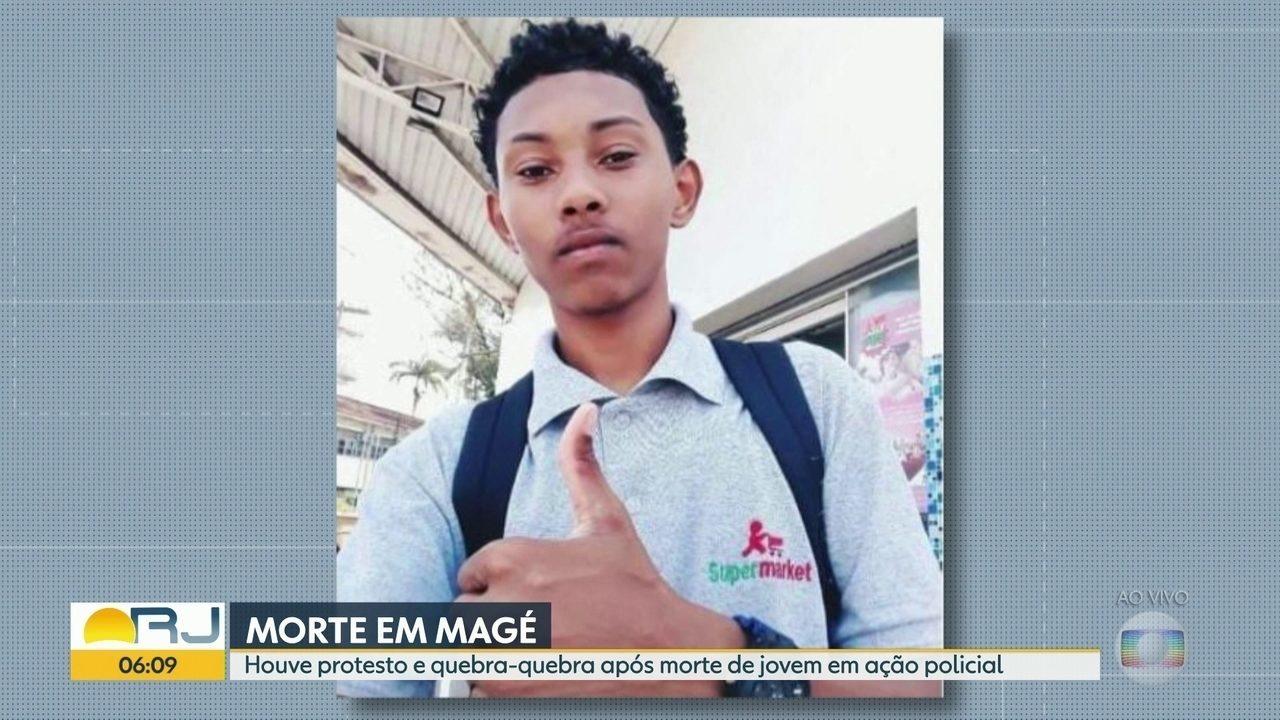 Jovem de 19 anos é morto durante operação da polícia em Magé