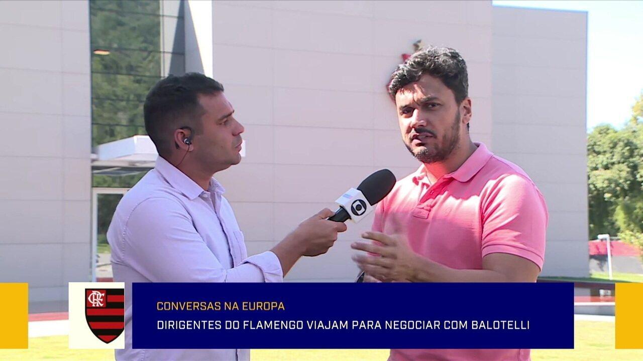 Cahê Mota traz mais informações da negociação do Flamengo com Balotelli