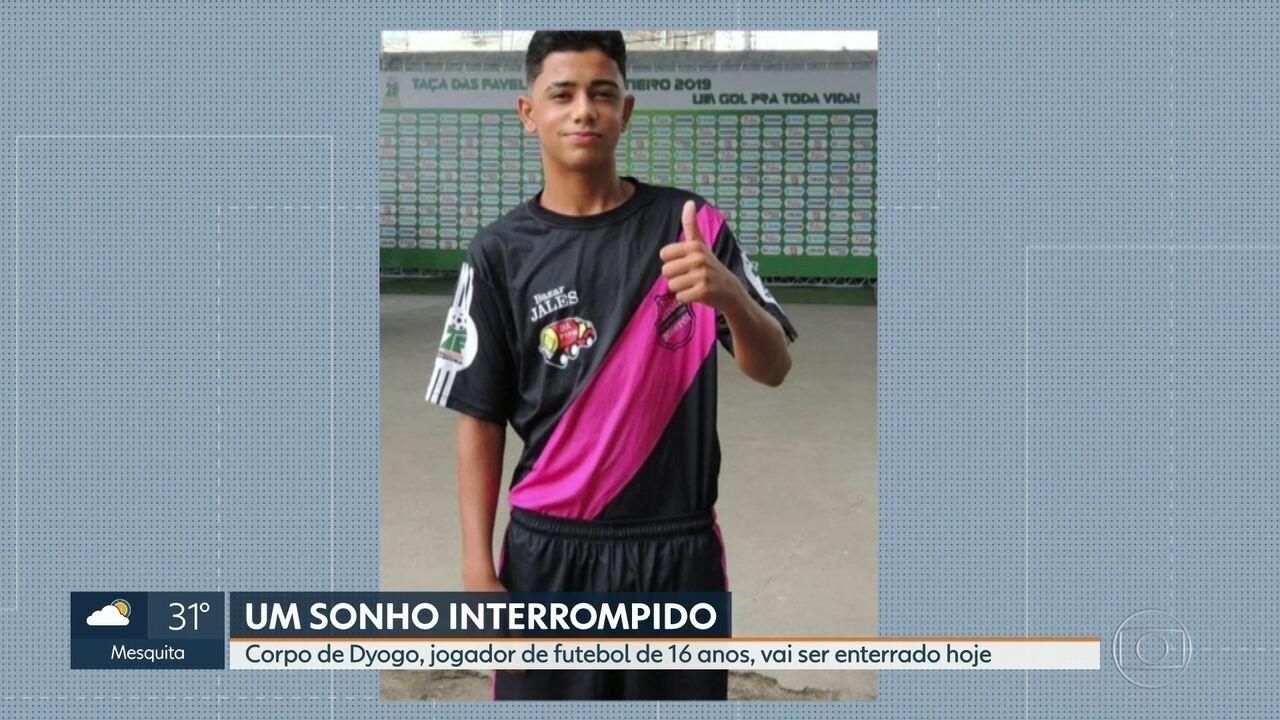 Corpo de jovem morto durante confronto em Niterói será enterrado nesta terça (13)