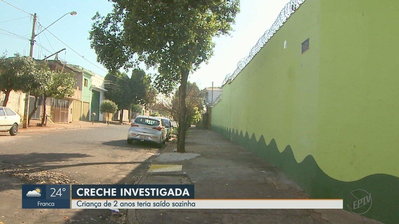 Criança de 2 anos escapa de creche em Ribeirão Preto, SP, diz mãe