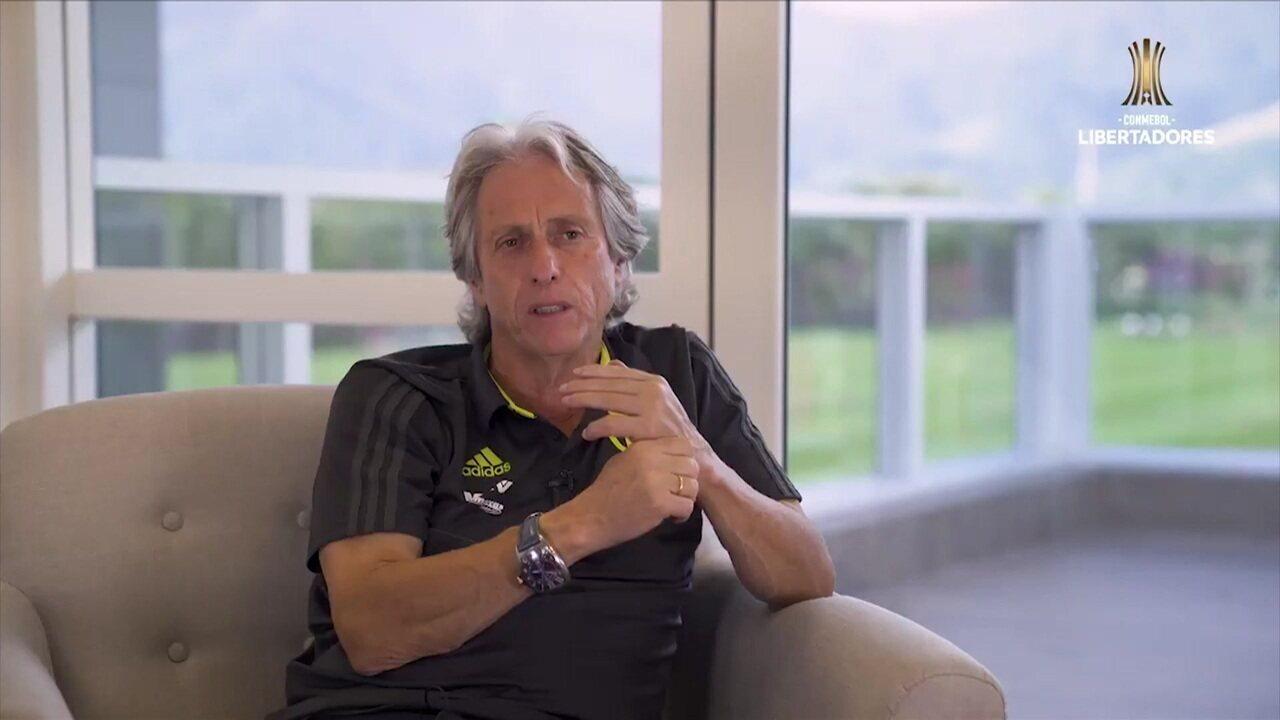 Jorge Jesus diz que chegou ao Flamengo achando que o foco era o Brasileiro, e não a Libertadores