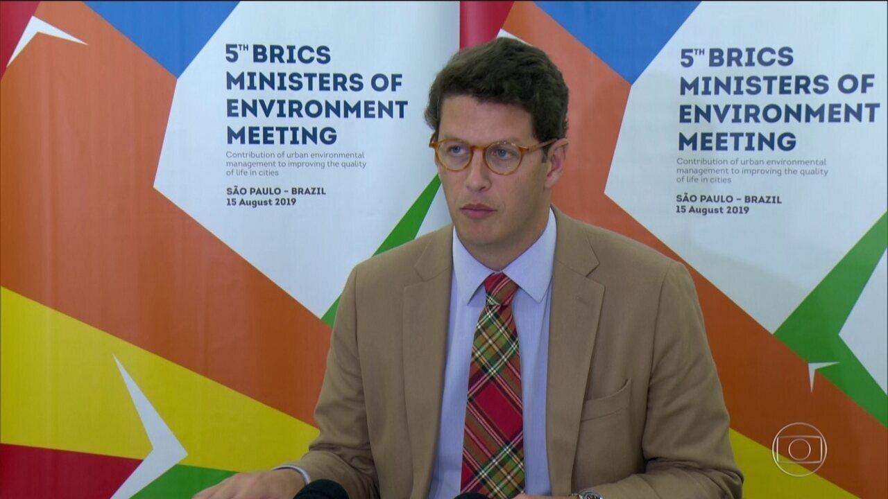 JORNAL NACIONAL: Noruega suspende repasses de R$ 133 milhões para o Fundo Amazônia