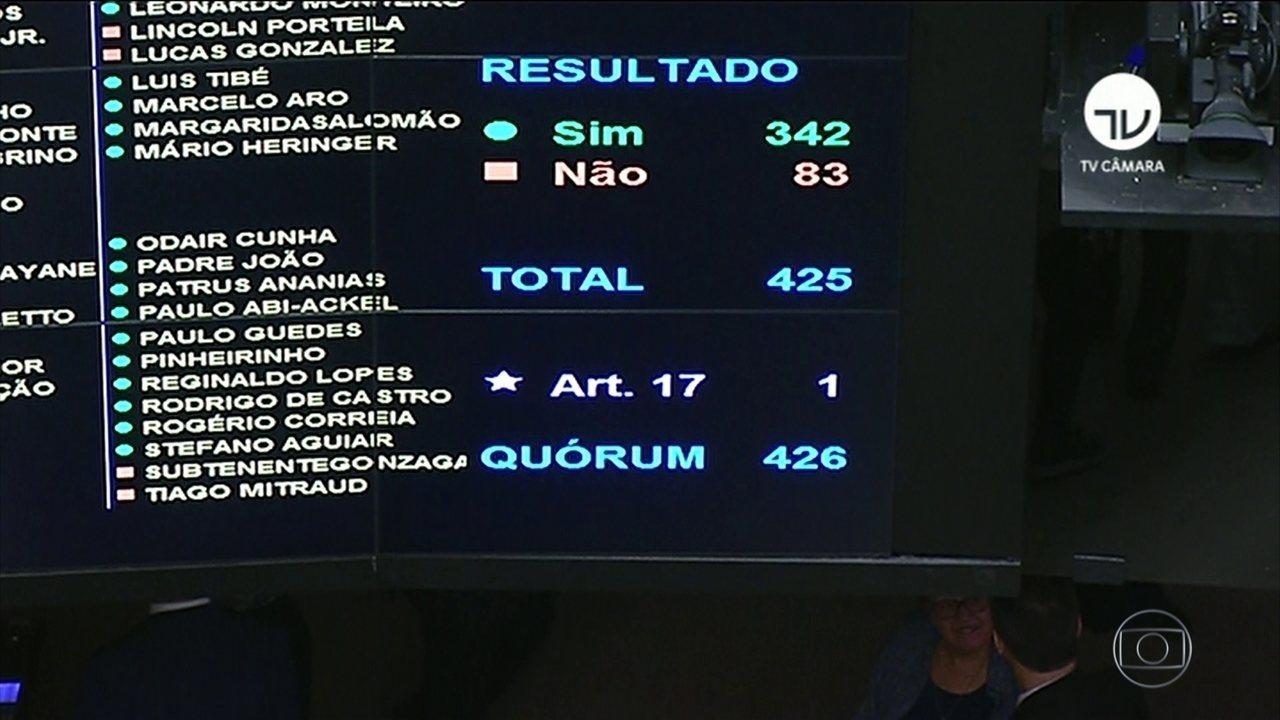 Câmara vota projeto que define 30 tipos de abuso de autoridade