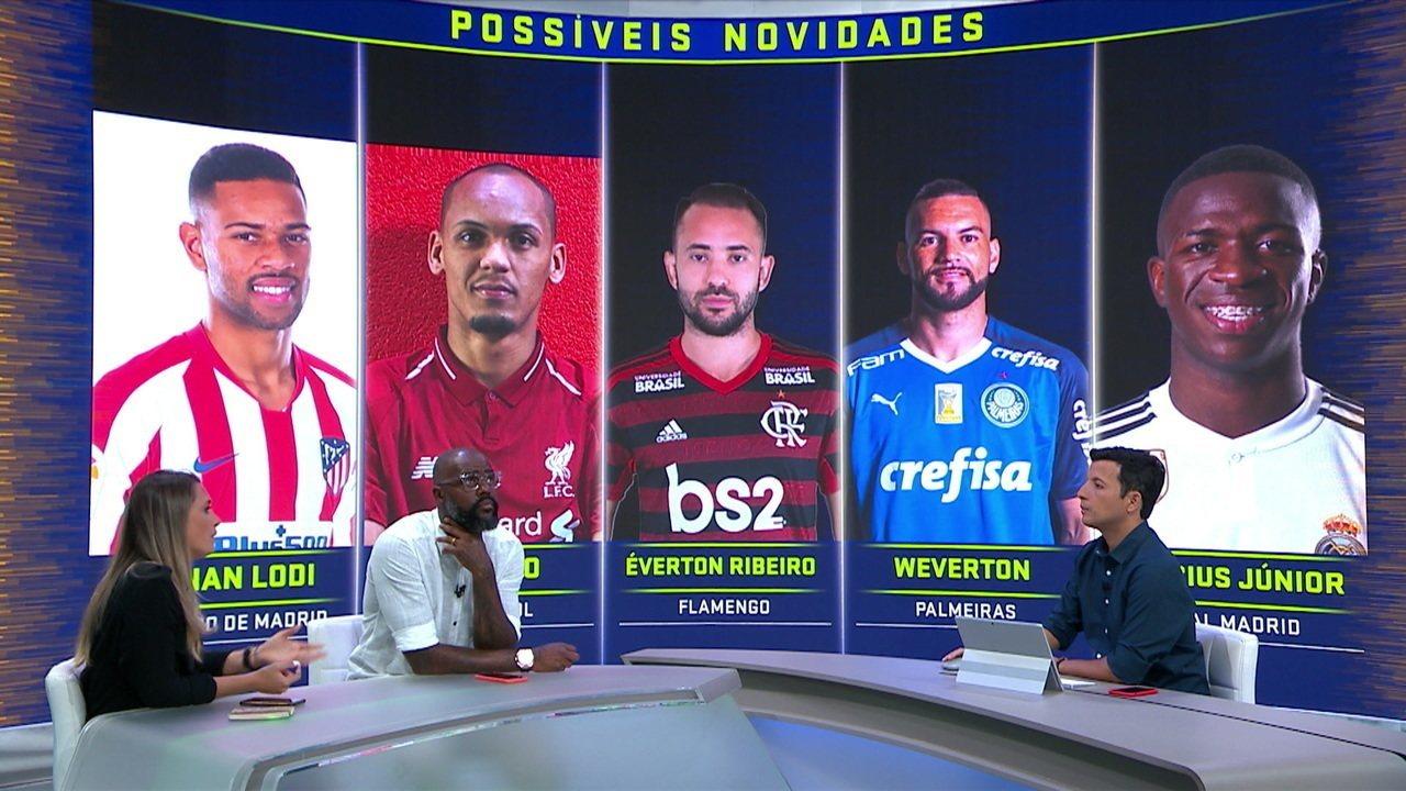 Comentaristas analisam possíveis novidades na lista de convocados de Tite