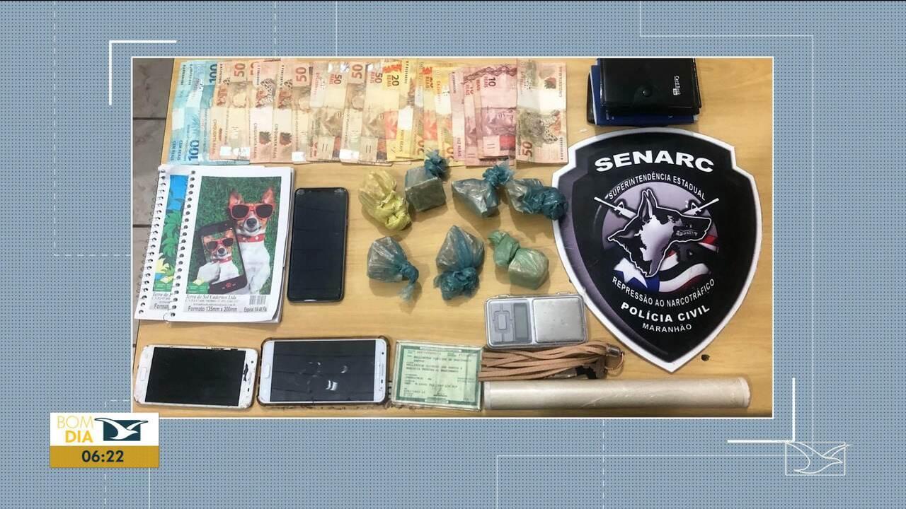Polícia prendeu 5 pessoas da mesma família suspeitas de tráfico de drogas no MA