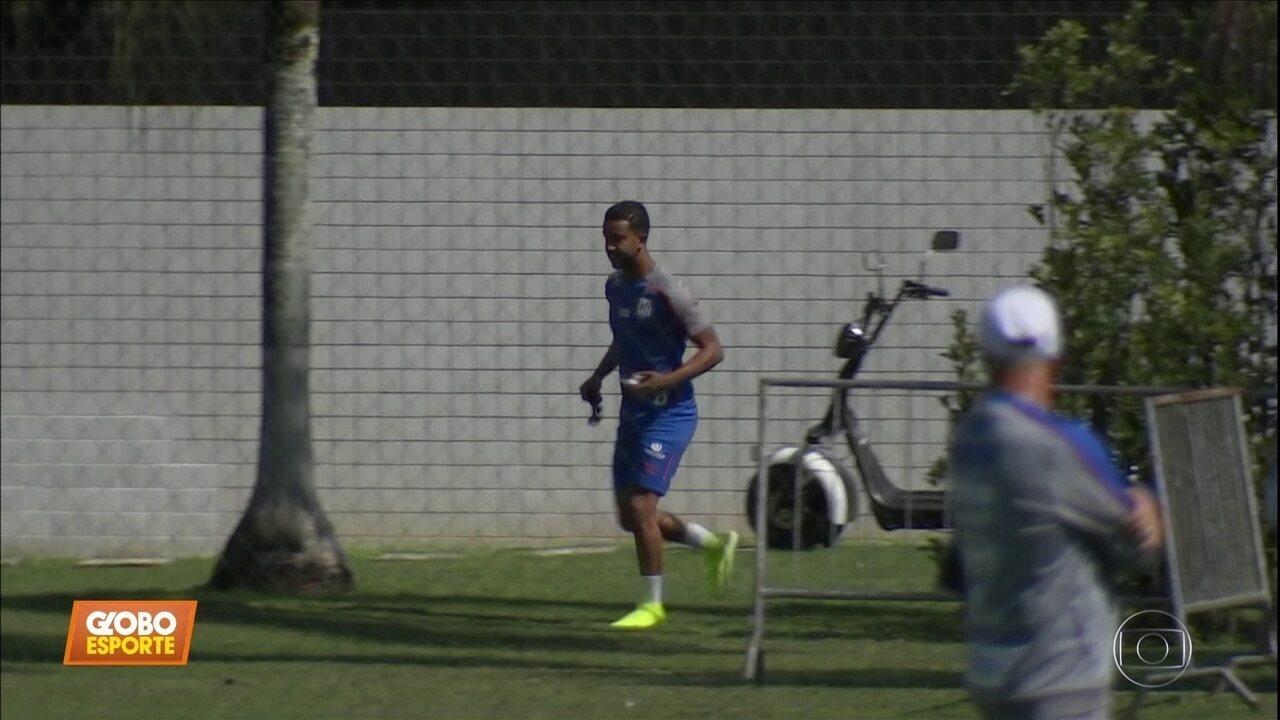 Lateral Jorge, do Santos, é convocado para Seleção