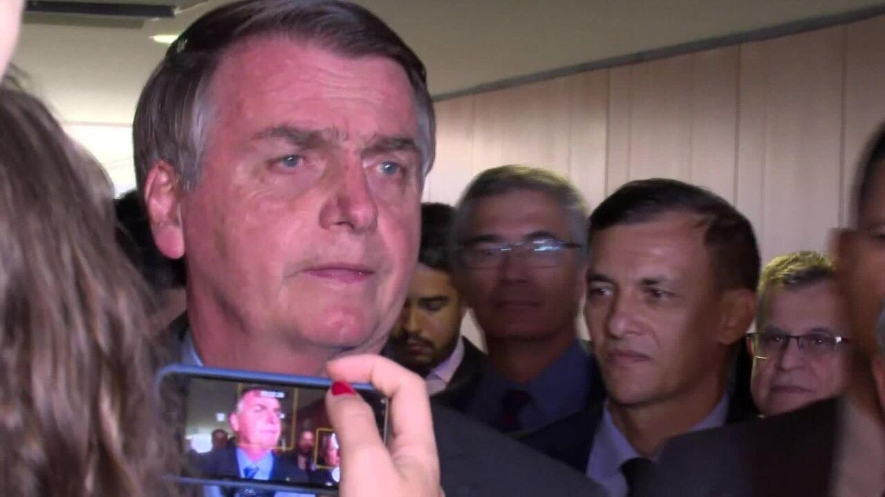 Bolsonaro ameniza tom ao falar de indicação da PF: 'Tanto faz para mim, não tem problema'