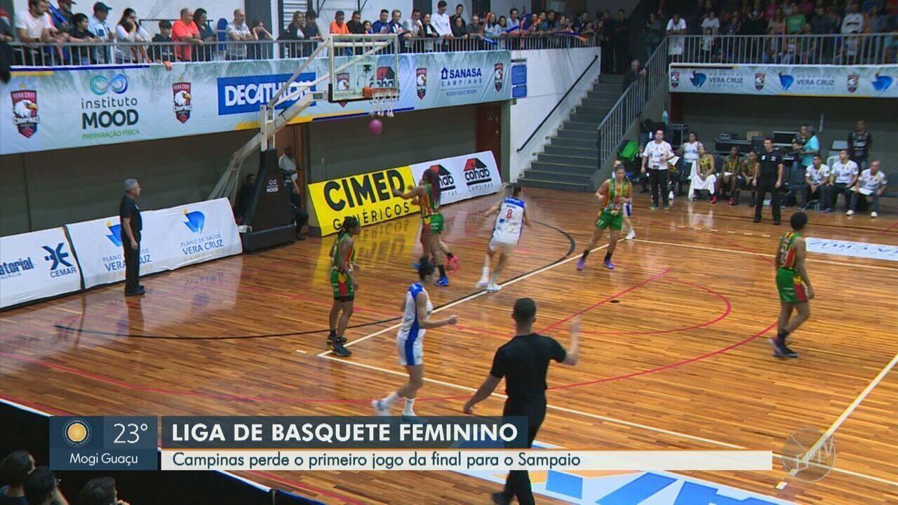 Basquete feminino de Campinas sofre derrota em casa na abertura dos play offs da final