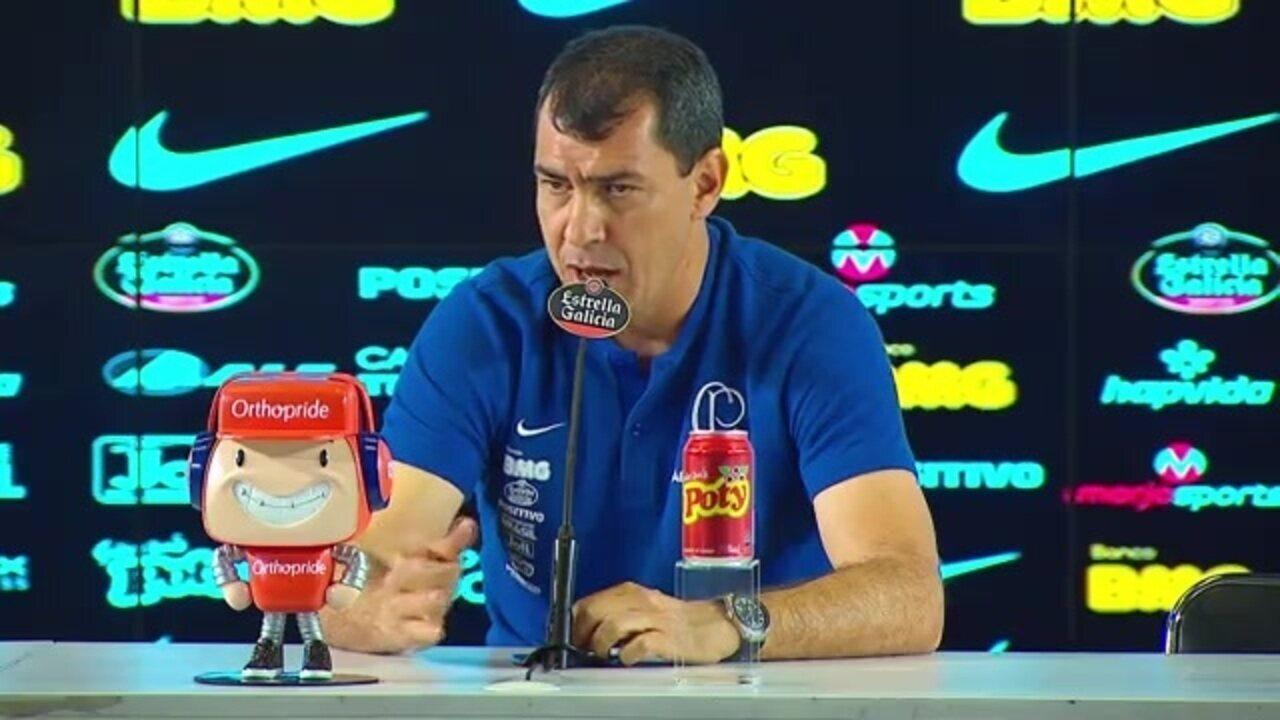 Fábio Carille analisa a vitória do Corinthians sobre o Botafogo