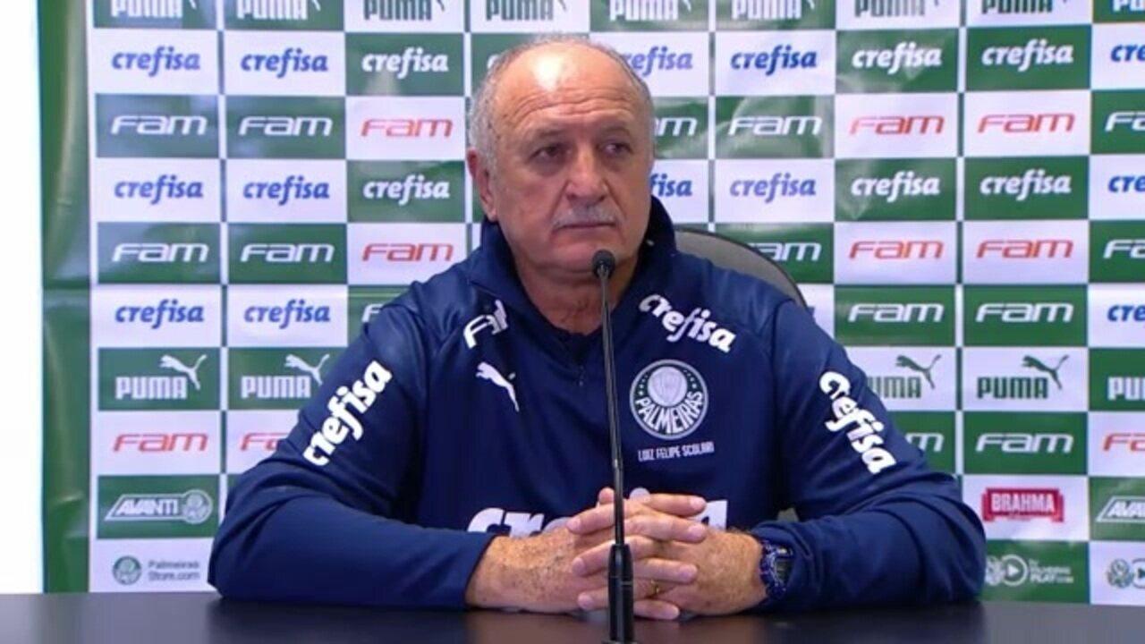 Veja como foi a entrevista de Felipão após empate do Palmeiras com o Grêmio