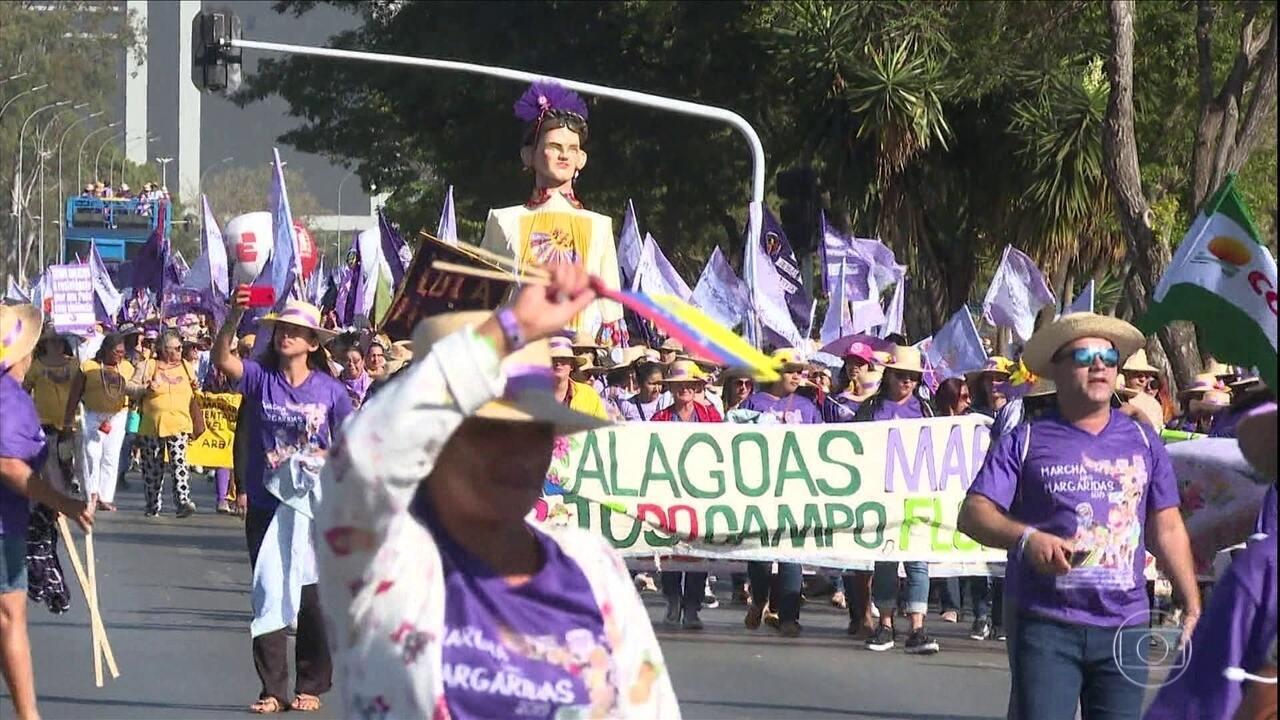 Marcha das Margaridas reúne milhares de agricultoras familiares em Brasília
