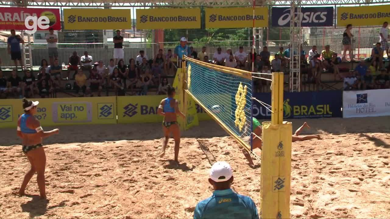 Juliana e Josi conquistam etapa de Teresina do Challenger de Vôlei de Praia; veja lances