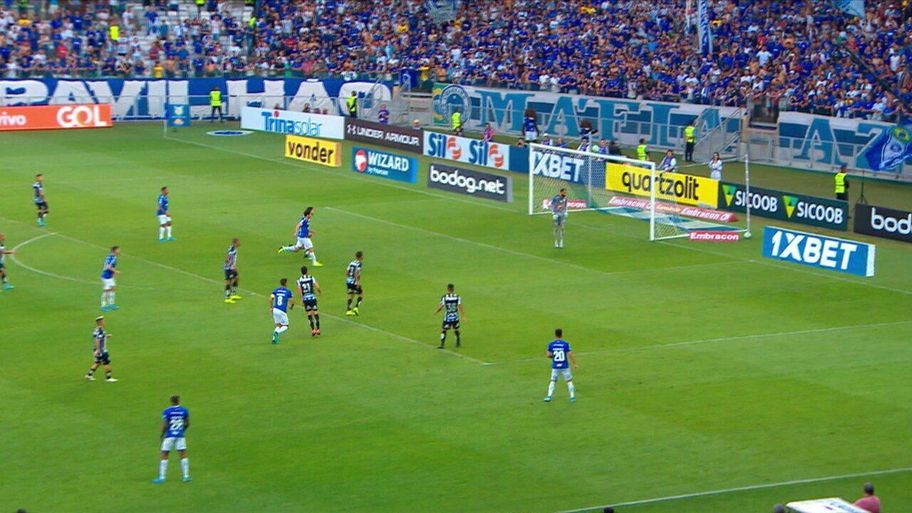 Melhores momentos de Cruzeiro 2 x 0 Santos pela 15ª rodada do Campeonato Brasileiro