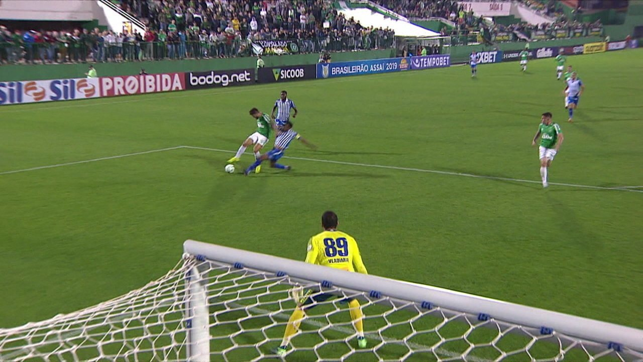 O gol de Chapecoense 1 x 0 Avaí pela 15ª rodada do Campeonato Brasileiro 2019