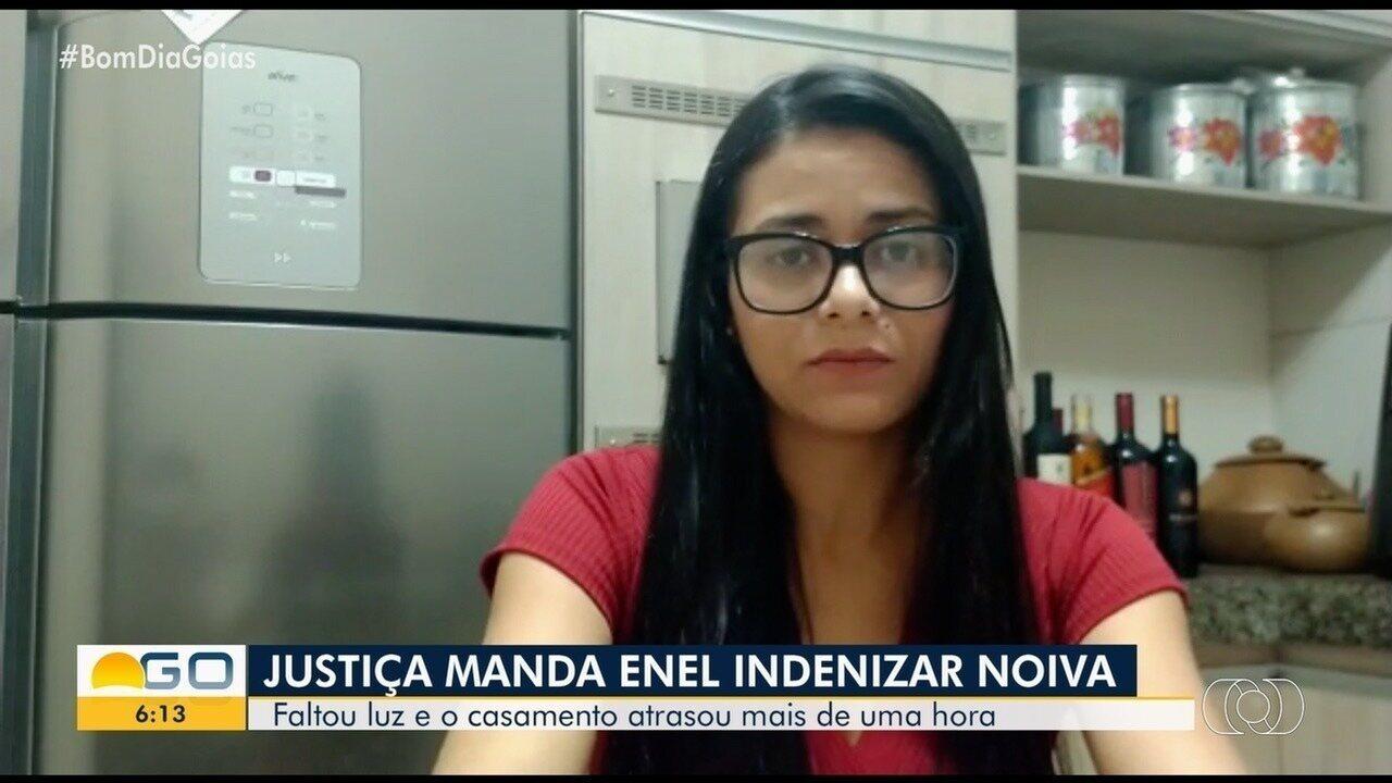 Enel deve indenizar noiva após queda de energia no dia do casamento, em Santa Fé de Goiás