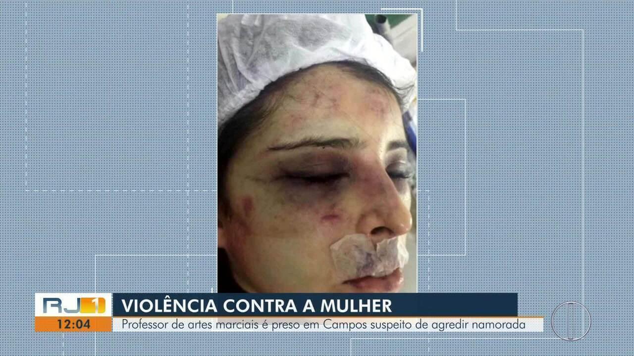 Lutador é suspeito de agredir a namorada em Campos