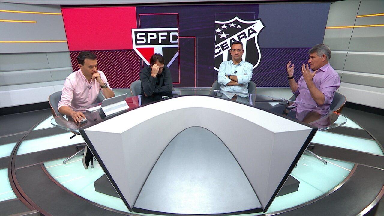 Seleção SporTV comenta vitória do São Paulo sobre o Ceará