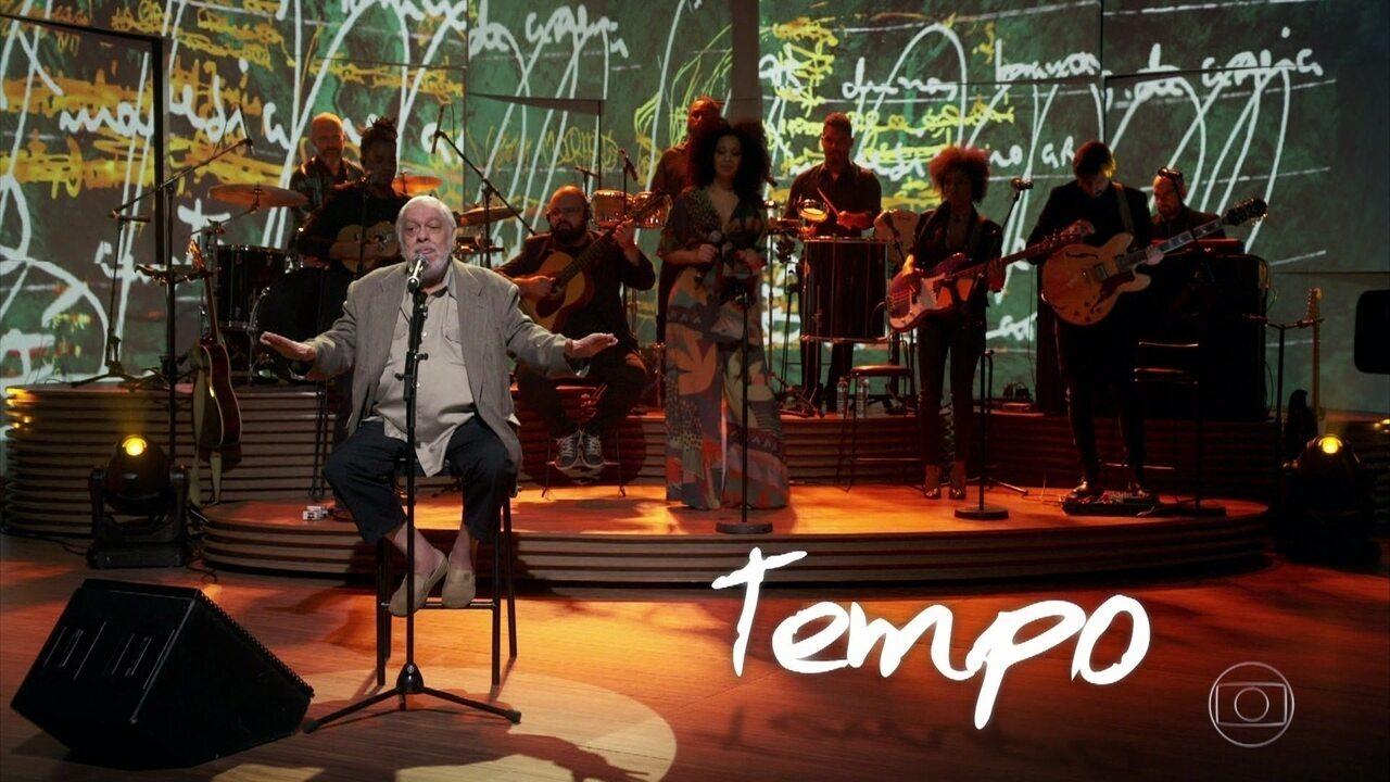 """Paulo César Pinheiro apresenta """"Poder da Criação"""" e fala sobre processo de composição"""