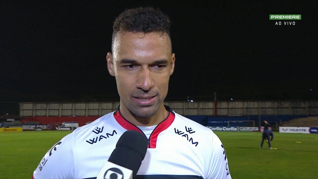 Gilvan diz que empate com Paraná é importante para o Atlético-GO