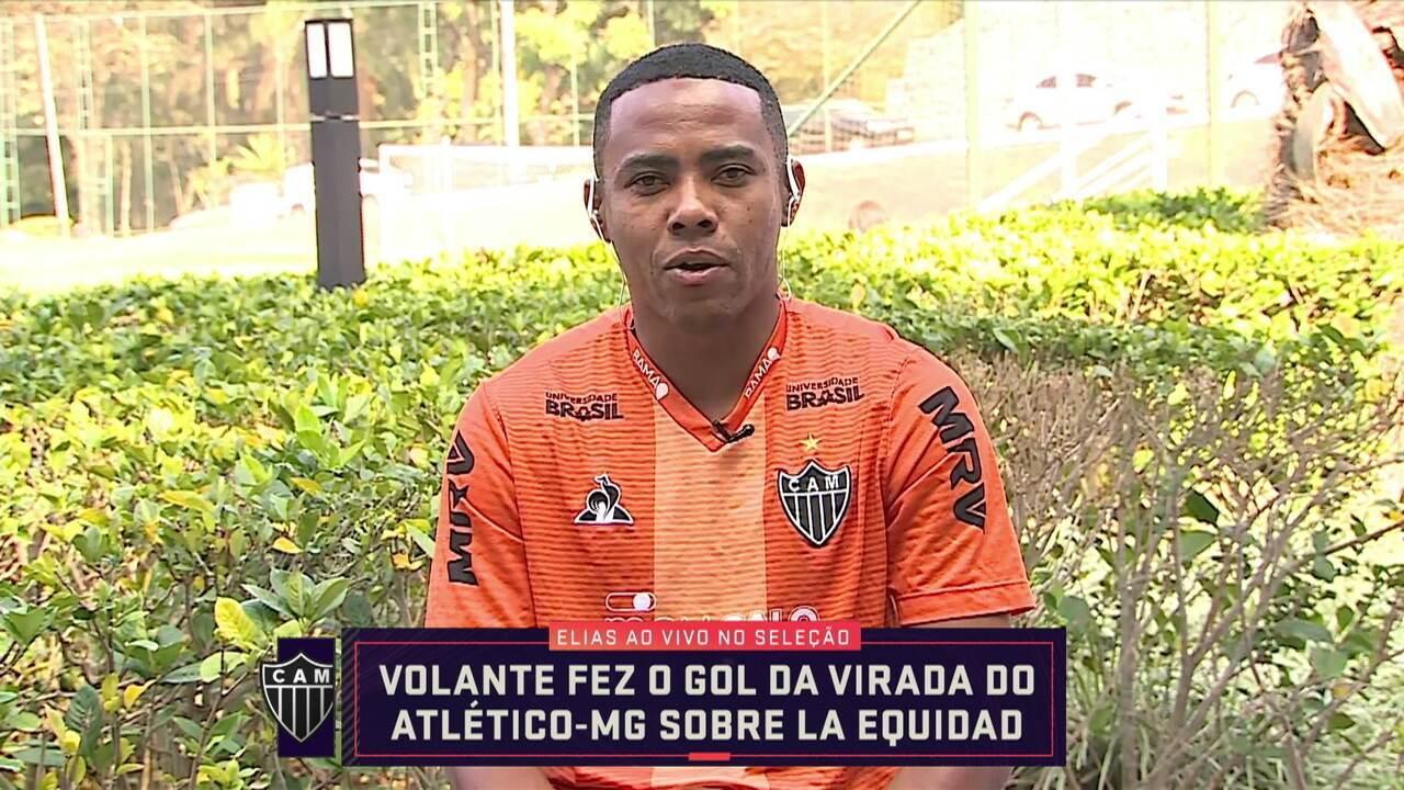 Elias participa ao vivo do Seleção e comenta sobre a vitória do Atlético-MG na Copa Sul-Americana