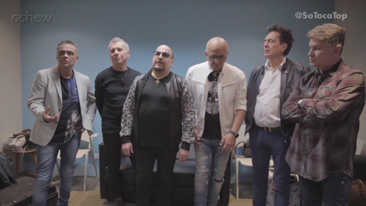 Roupa Nova responde perguntas dos convidados do 'SóTocaTop'