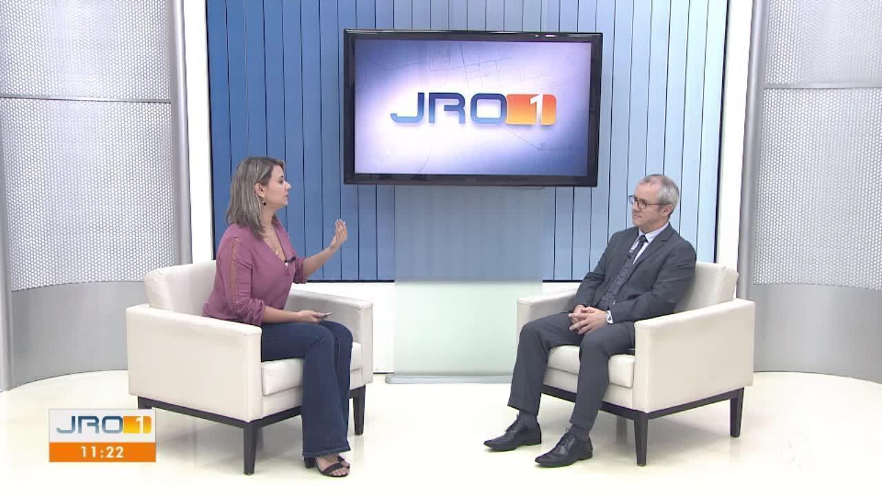 """Fabiano Pegoraro, juiz auxiliar do TJ, explica sobre o projeto """"Escritura na Mão"""""""