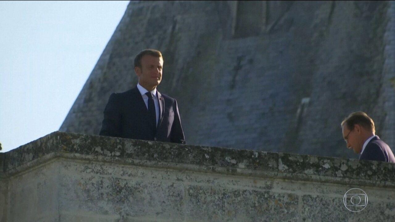 Presidente da França, Emmanuel Macron, considera queimadas na Amazônia crise internacional