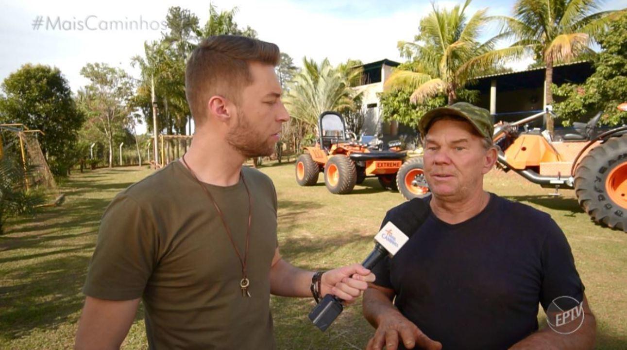 Rafael Ristow foi conhecer o maior triciclo do Brasil