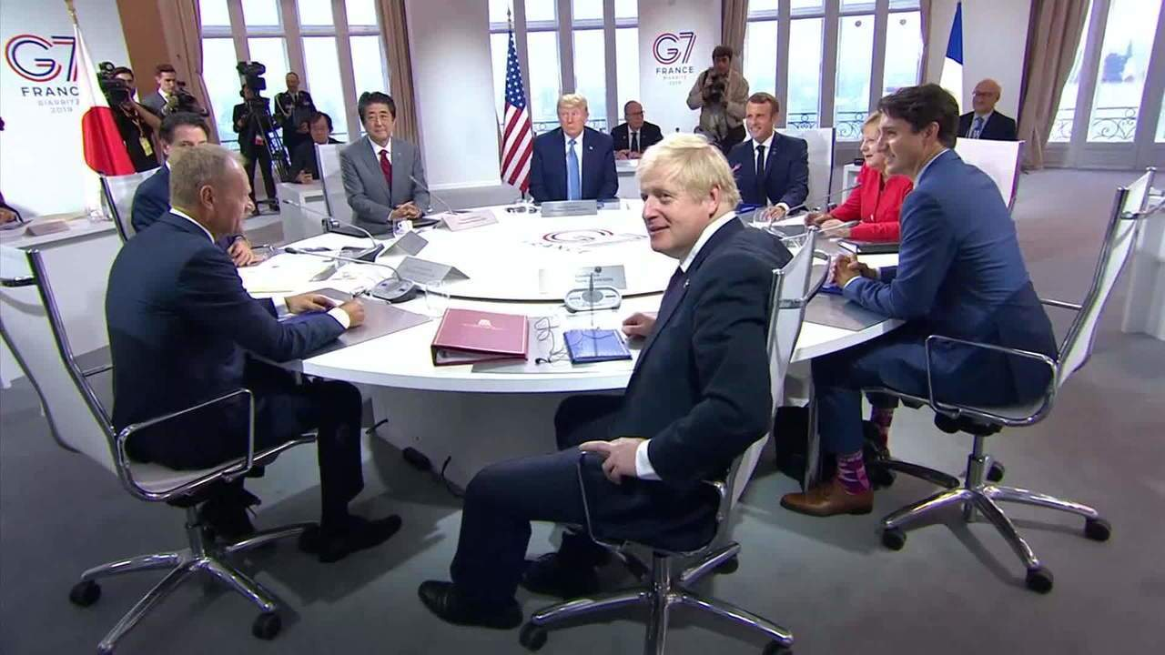 Guerra comercial entre EUA e China é discutida no encontro do G7