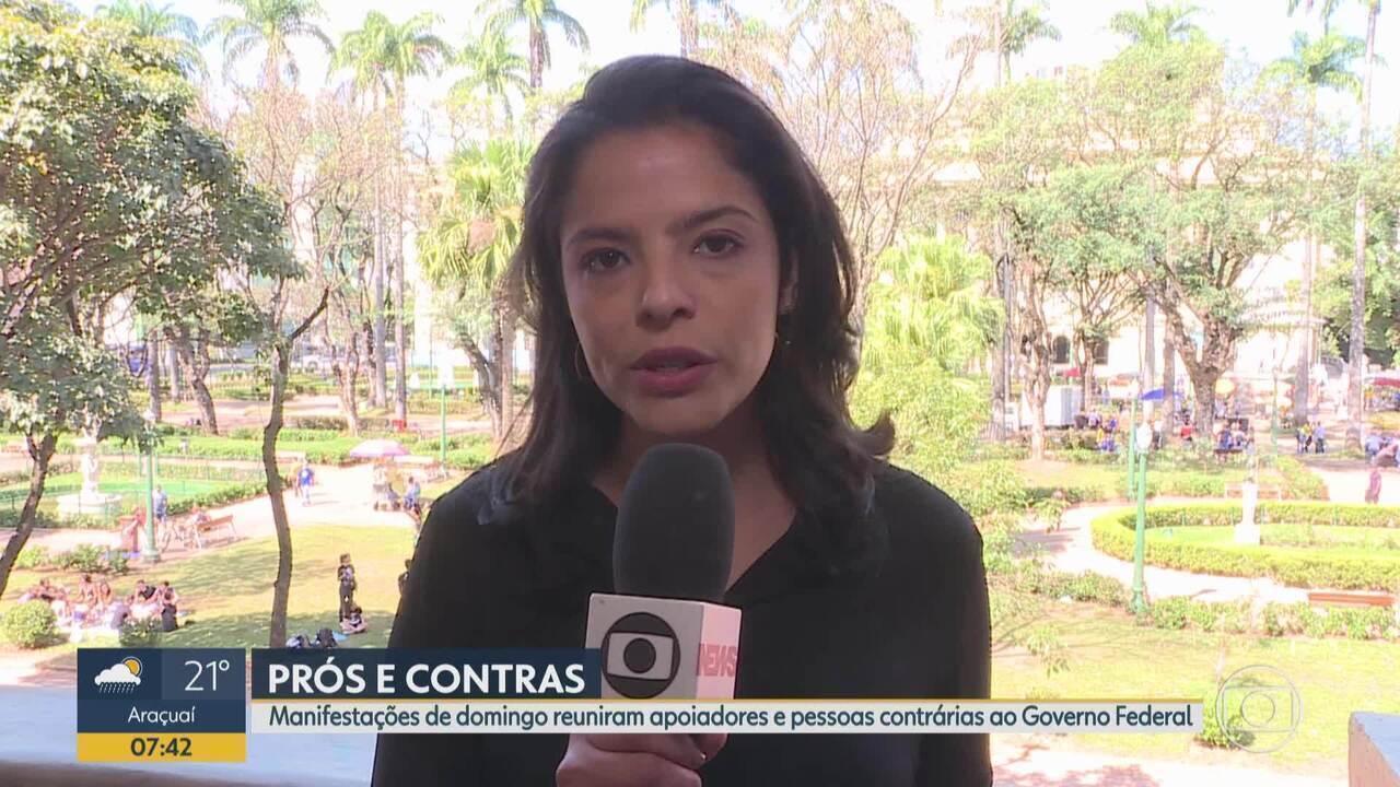 BH registra protestos a favor e contra o governo federal, e em defesa da Amazônia