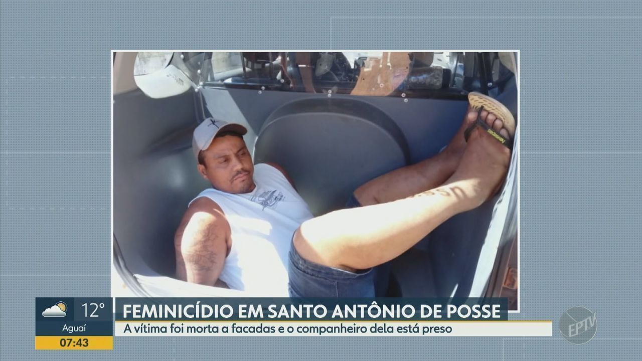 Homem é preso suspeito de matar mulher esfaqueada em Santo Antônio de Posse