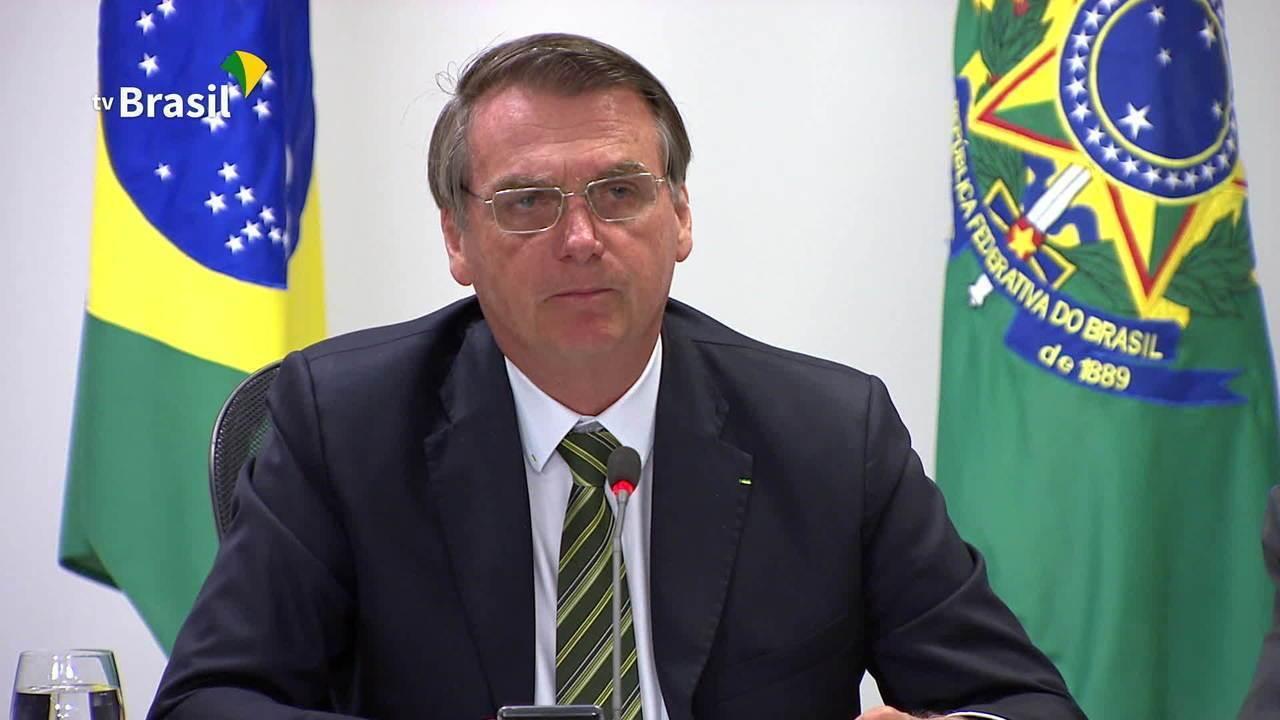 Bolsonaro diz que a Amazônia foi usada politicamente desde Collor